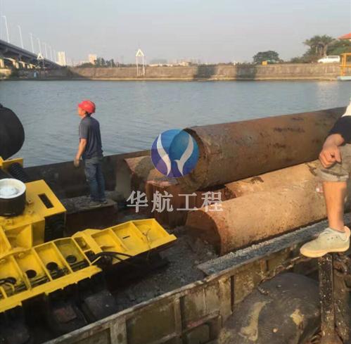 码头桩水下拆除