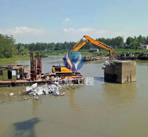 水下建筑物拆除