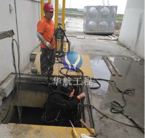 泵房闸门水下清理