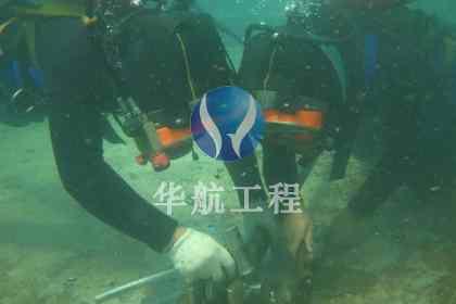 潜水员水下焊接